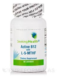 Active B12 with L-5- MTHF